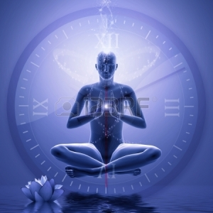 24249529-no-time--power-yoga-oeeditation--digital-graphic-compilation-computer-drawing-elements